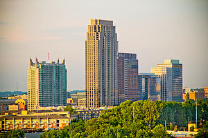 Atlantic Station - The skyline of Atlantic Station
