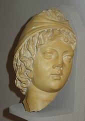 Sculpture of Attis. Museum of Ephesus, Efes, Turkey.