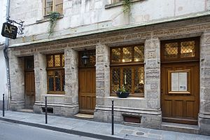 House of Nicolas Flamel - Image: Auberge Nicolas Flamel, Paris 11 February 2017