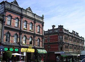 Auburn, Victoria - Victorian streetscape of Auburn Road