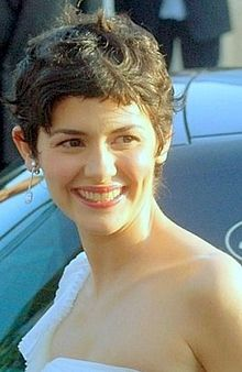 Audrey Tautou at the 2006 Cannes Film Festival