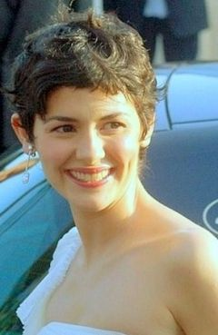 Tautou at the 2006 Cannes Film Festival. Audrey Tautou Cannes 2006.jpg