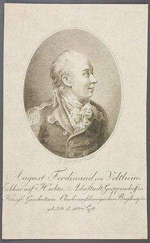 August Ferdinand von Veltheim - Image: August Ferdinand von Veltheim 01