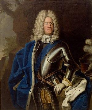 Augustus William, Duke of Brunswick-Lüneburg - Contemporary portrait by Christoph Bernhard Francke