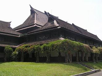 Sundanese traditional house - West hall of Bandung Institute of Technology