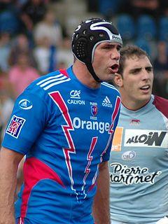 David Auradou French rugby union player