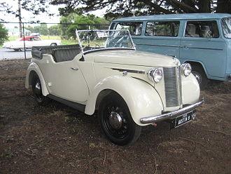 Austin 8 - tourer 1939