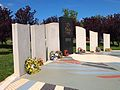 Australian Merchant Navy Memorial side view Nov 2012.JPG