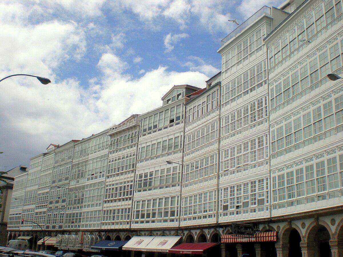 File Avenida Da Marina A Coruña Jpg Wikimedia Commons