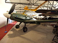 Avia S-199 (Czech version Messerschmitt Bf 109) (UF 25) pic2.JPG