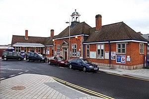 Aylesbury railway station - Image: Aylesbury Railway Station geograph.org.uk 1306675