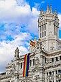 Ayuntamiento de Madrid - Rainbow flag - 170627 204010.jpg