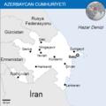 Azerbaijan - Location Map (2013) - AZE - UNOCHA (Turkish).png