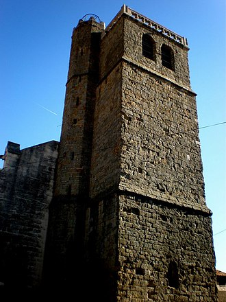 Azille - The Church bell tower