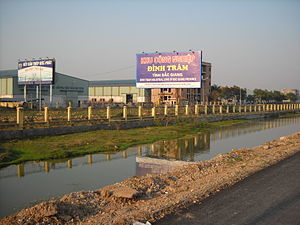 Việt Yên District - Image: Bắc Giang Viet Yen