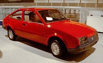 Volkswagen Bratislava Plant - Prototype BAZ Locusta 3-door coupé