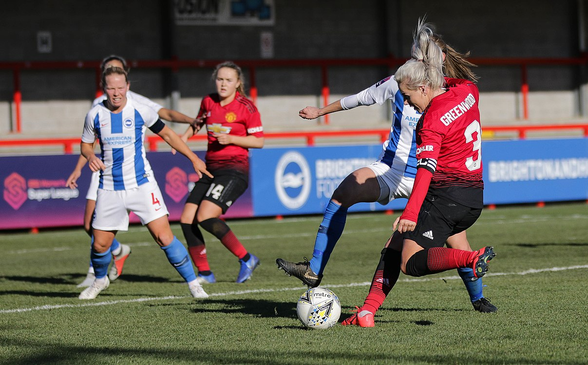BHA Women 0 Man Utd Women 2 WFAC 4th rd 03 02 2019-1014 (46261894184).jpg