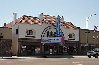 National Register of Historic Places listings in Idaho County, Idaho - Image: BLUE FOX THEATER, GRANGEVILLE, IDAHO COUNTY