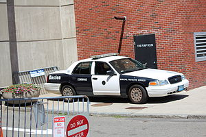 Boston Municipal Protective Services - A BMPS Patrol Car