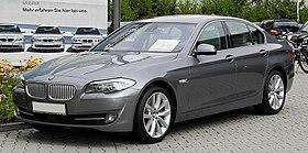 BMW 550i (F10) – Frontansicht (2), 17. Juli 2011, Mettmann.jpg