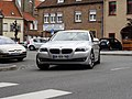 BMW 5 Series saloon (F10) silver, front view (8578443188).jpg