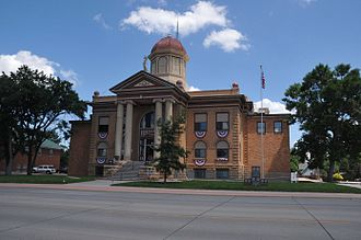 National Register of Historic Places listings in Butte County, South Dakota - Image: BUTTE COUNTY COURTHOUSE, BELLE FOURCHE
