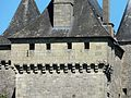 Badefols-d'Ans château mâchicoulis.JPG