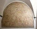 Badia a settimo, refettorio dell'abate, crocifissione di agnolo gaddi, sinopia 01.jpg
