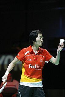Liu Xin (badminton) Badminton player