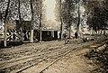Bahnhof der Feldbahn Verger-Marquion bei Arras, Mai 1918.jpg