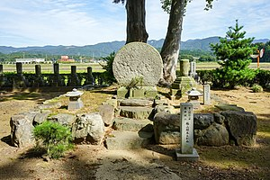 Jochū Tengin - Tombs of Jochū Tengin and Baisan Monpon (Awara-shi, Fukui Prefecture, Japan)