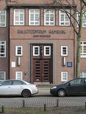 Hamburg Ballet - entrance of Ballettzentrum Hamburg