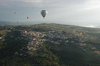 Fragneto Monforte -  Balloon's view