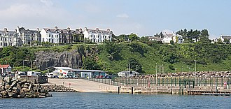 Ballycastle, County Antrim - Image: Ballycastle Harbour geograph.org.uk 468327