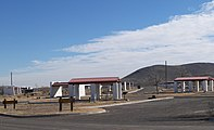 A photo of campsites at Balmorhea State Park