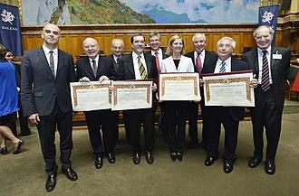 Balzan Prize - Balzan Prize 2013 ceremony in Bern.