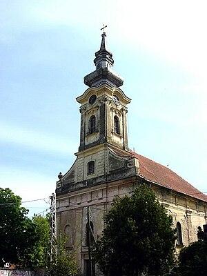 Banatski Karlovac - The Saint Charles Bormeian Catholic Church.