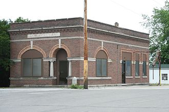Foosland, Illinois - Bank of Foosland.