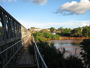 Bardera - Bridge over the Jubba River.
