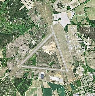 Barnwell Regional Airport - USGS 2006 orthophoto