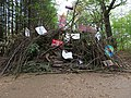 Barrier with protest-signs in the Hambach forest 14.jpg
