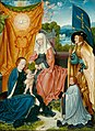 Bartel Bruyn, the elder - Virgin and Child with Saint Anne, Saint Gereon, and a Donor - 1933.1063 - Art Institute of Chicago.jpg