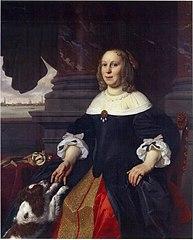Portrait of Catharina Claesdr. Gaeff alias Lambertsdr. Opsy (1619-1698)