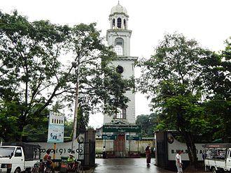 Yangon City Heritage List - BEHS 4 Ahlon