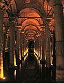 Basilica Cistern Constantinople 2007 hall.jpg