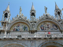 Sint Marcus Venetie.Basiliek Van San Marco Venetie Wikipedia