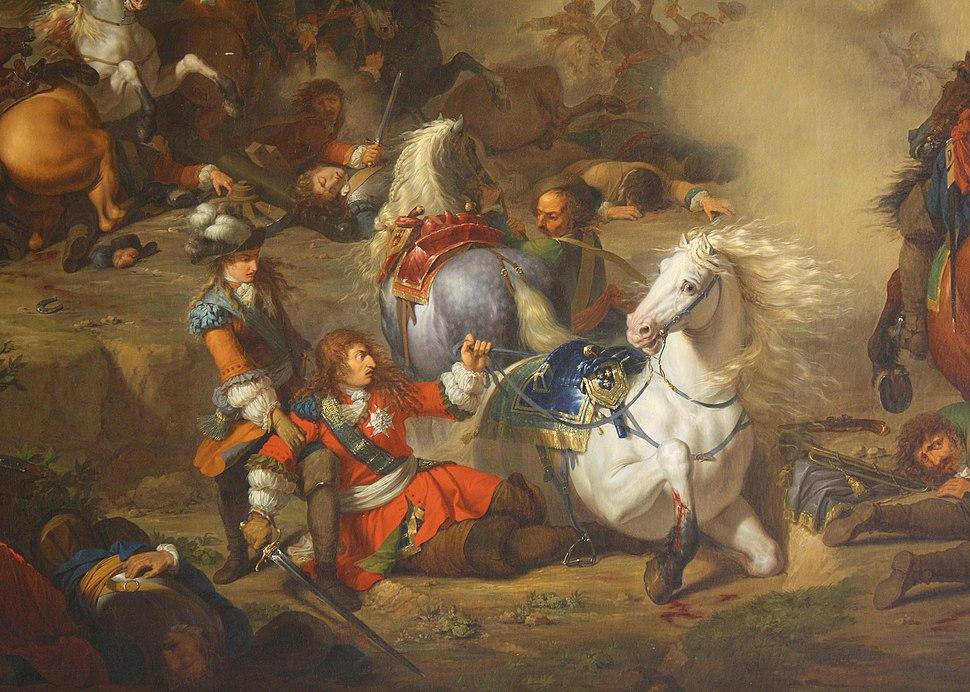 Bataille de Seneffe de B.Gagneraux