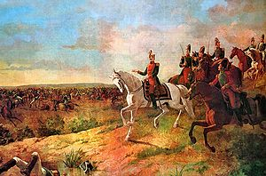 Battle of Junín - Battle of Junín by Martín Tovar y Tovar. Oil on canvas.