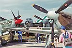 Battle of Britain 50th anniversary display at 1990 Oshkosh Air Show Flickr 387873523.jpg