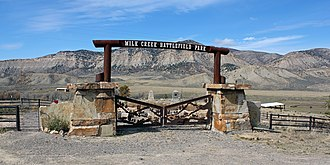 National Register of Historic Places listings in Rio Blanco County, Colorado - Image: Battle of Milk River Site